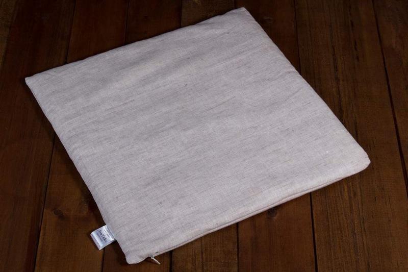 Льняные подушки в кроватки и коляски