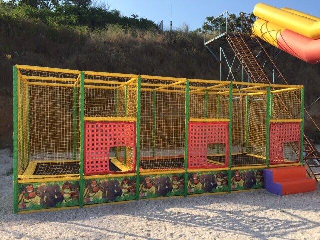 Спортивные батуты- батутные арены и комплексы-Бату