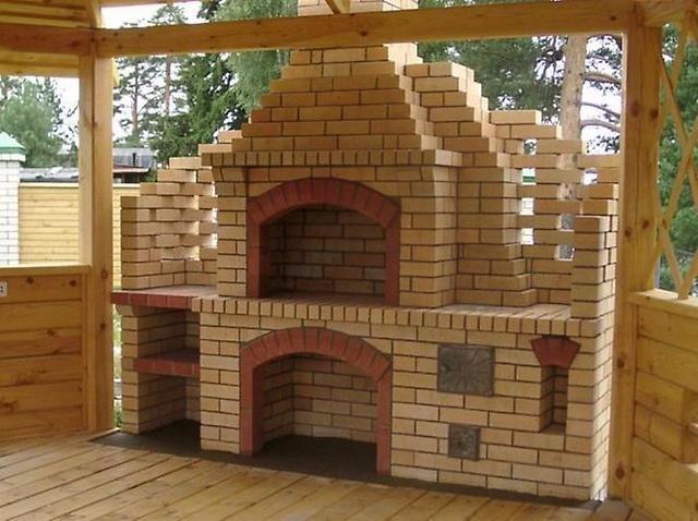 Строительство барбекю «под ключ»