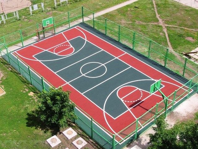 Строительство спортивных площадок «под ключ»