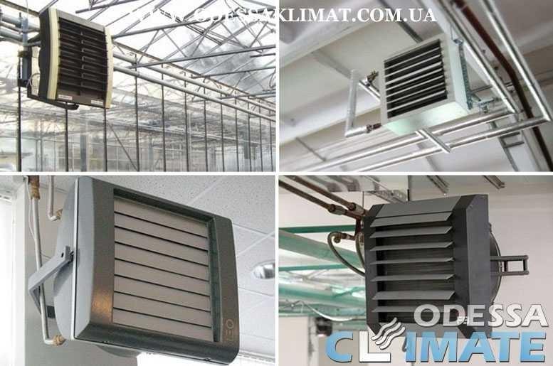 Тепловентиляторы водяные - электрические