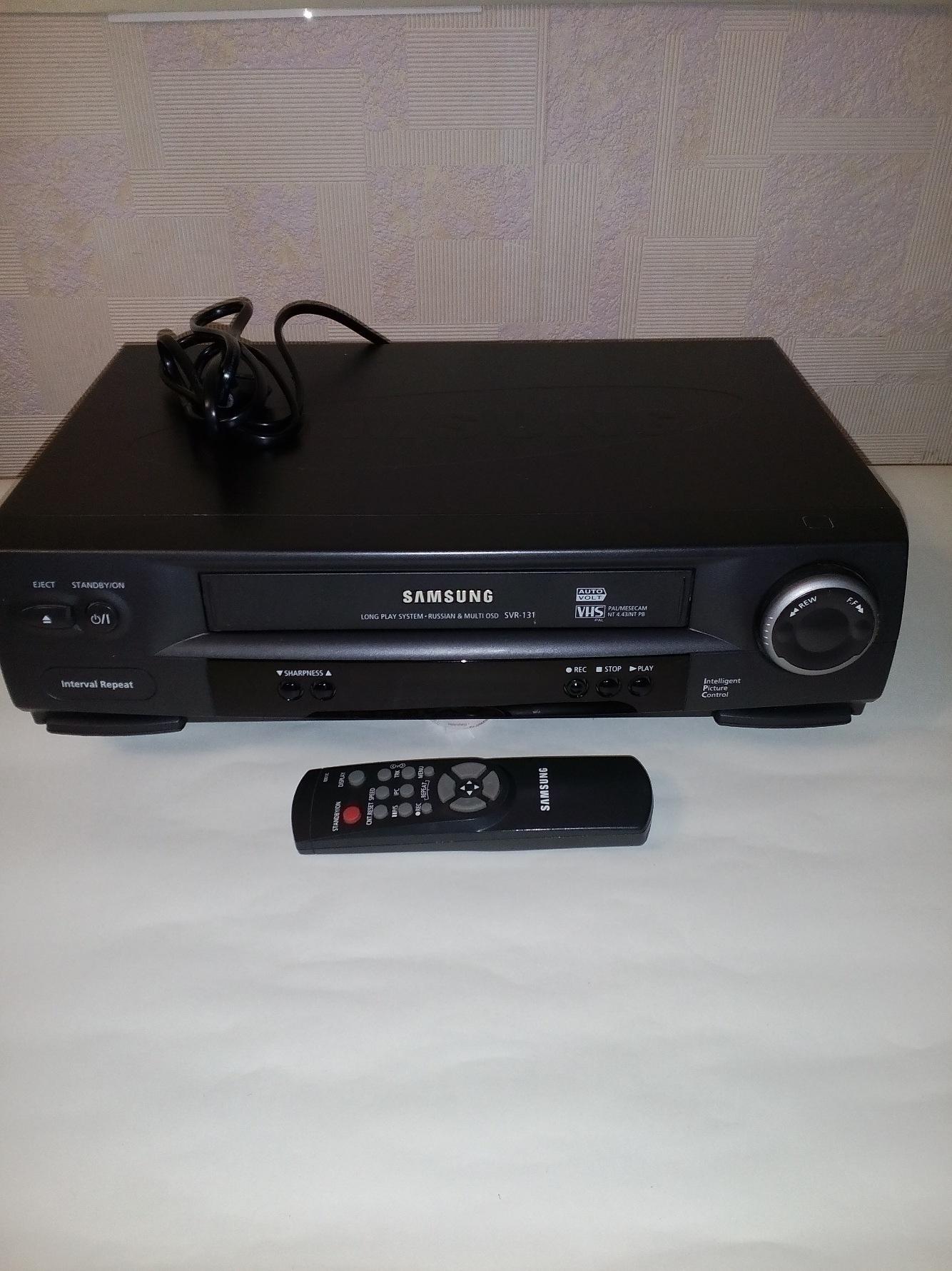 Видеомагнитофон Samsung SVR-131