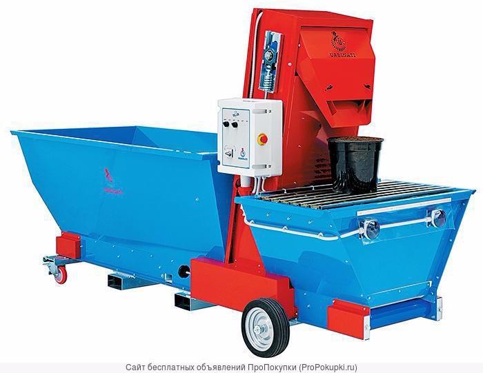 Машины для насыпания грунта в горшки URBINATI