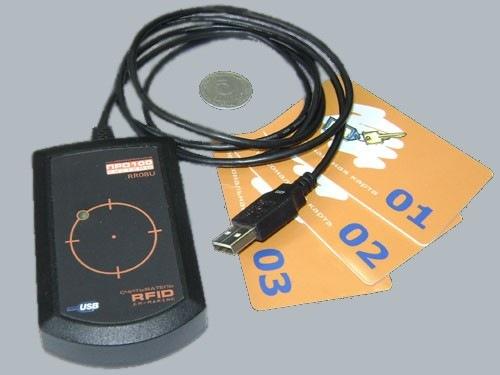 Считыватель RR08U для бесконтактных RFID карт
