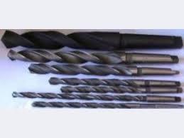 Сверла спиральные с цилиндрическим и коническим хв