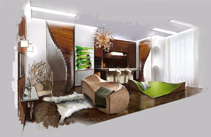 Дизайн-проект квартир и домов
