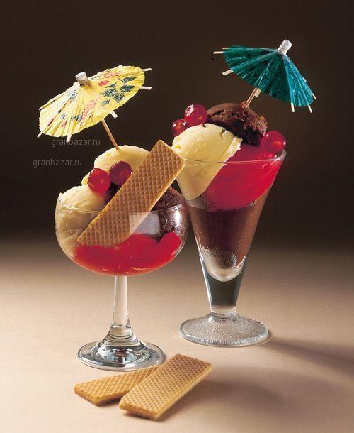 Украшения для коктейлей и десерта