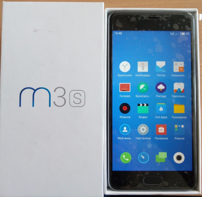 Meizu M3s GSM CDMA (model Y685H)