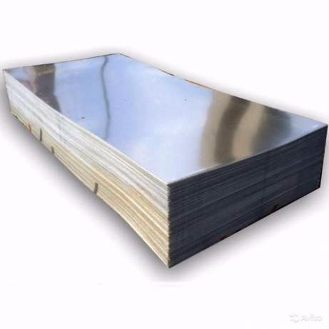Лист металлический гладкий оцинкованный 2х1 м